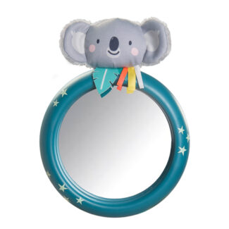 Toddler/'s Early Age Driving Imitation Taf Toys Koala Car Wheel Toy Buttons Operated Sounds /& Lights with a Baby Safe Mirror. Senses and Motor Skills Develops Emotional Intelligence
