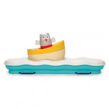 musical boat cot toy