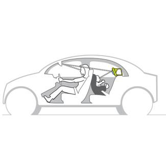 Kooky Car Mirror Taf Toys