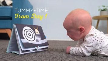 tummy time book video